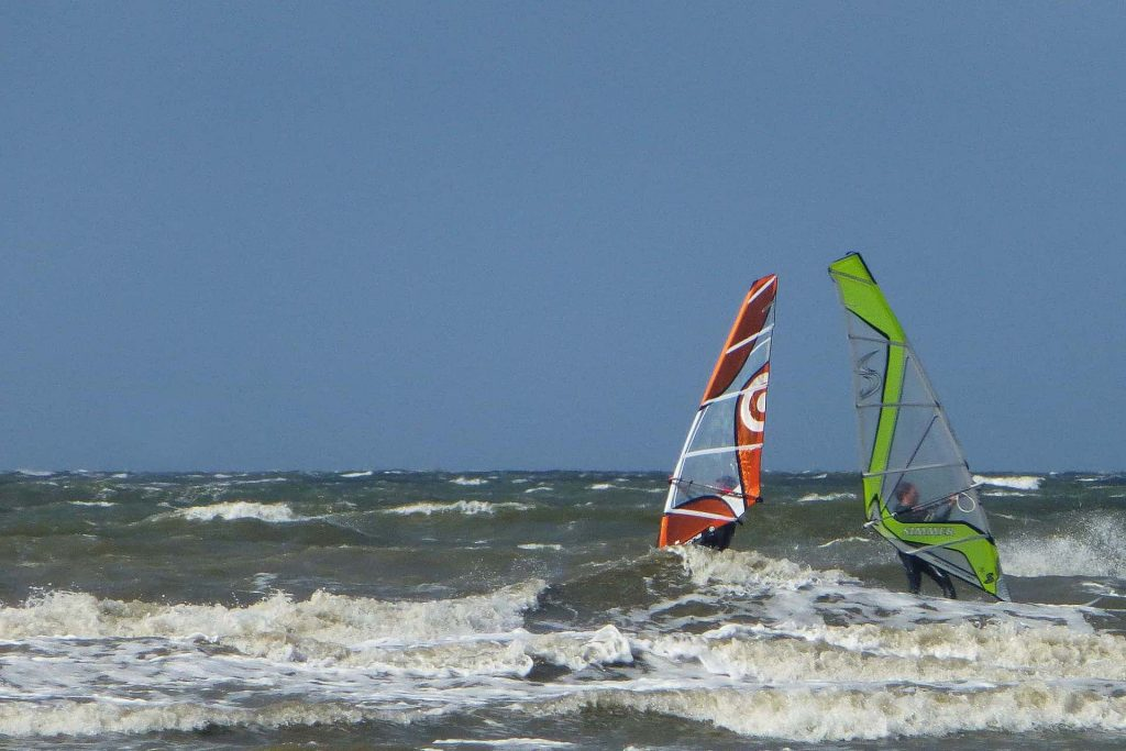 Windsurfen in Dithmarschen