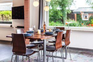 Essplatz_Ferienhaus Nordseebirke