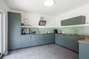 Die Küche 2_Ferienhaus Nordseebirke