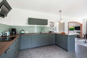 Die Küche_Ferienhaus Nordseebirke